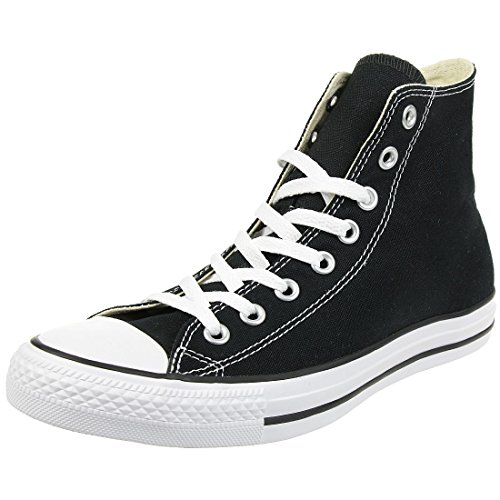 Converse All Star Hi Canvas Zapatillas Negras-UK 6.5