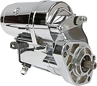 DB Electrical SHD0015-C Starter For Chrome 2.4Kw Harley 31553-94 31559-99A