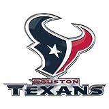 FANMATS NFL Houston Texans Alternative Color Logo Emblem, Blue, One Size