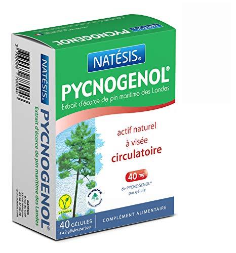 NATESIS — Pycnogenol — Extrait d'écorce de pin de Landes 40 mg — 40 gélules — Teneur...