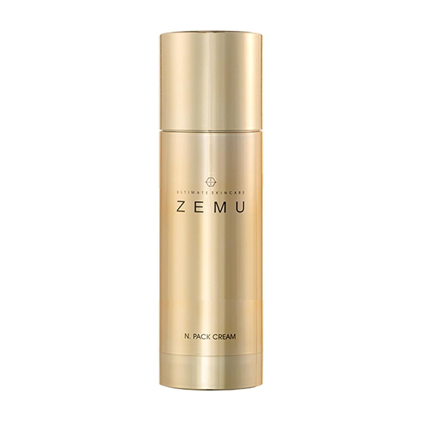 Ultimate skincare ZEMU パッククリームスリーピングパック、4.0オンス, 美白シワ改善