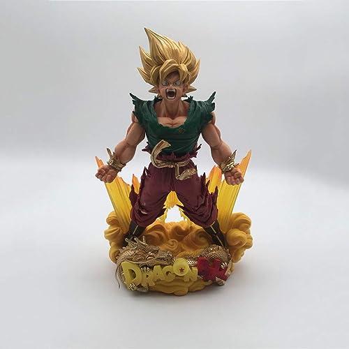HappyL Dragon Ball Anime Statue Wukong Jouet Modèle PVC Bureau Décoration Collectibles Cadeau d'anniversaire - 7.87in Statue de Jouet