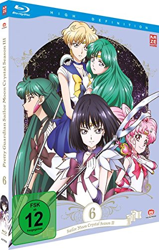 Sailor Moon Crystal - Staffel 3 - Vol.2 - Box 6 - [Blu-ray]