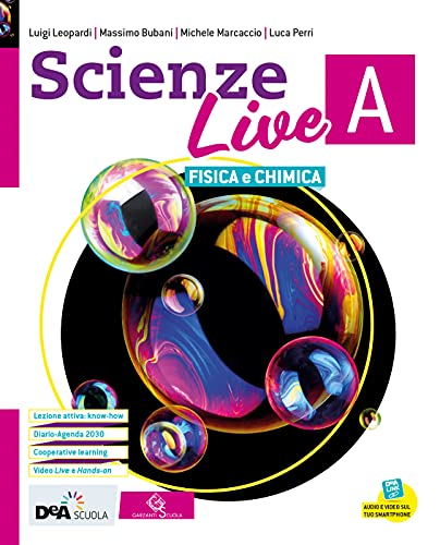 Scienze live. Ediz. tematica. Con Diario e Agenda per la sostenibilità. Per la Scuola media. Con e-book. Con espansione online. Chimica e ... della Terra e astronomia (Vol. A-B-C-D)