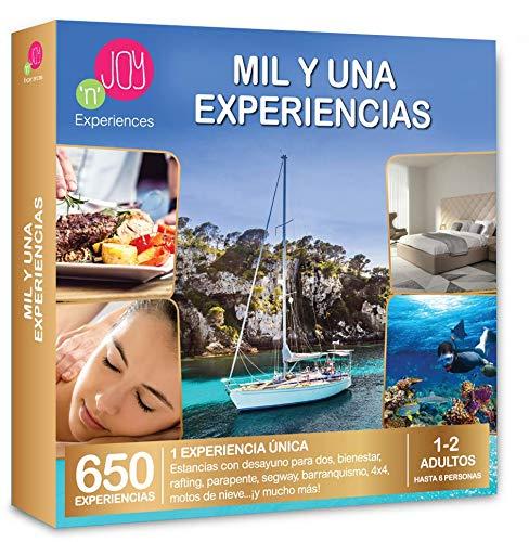 NJOY Experiences - Caja Regalo - MIL Y UNA EXPERIENCIAS - Más de 650 experiencias a Escoger