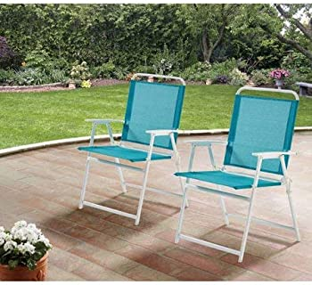 Mainstays Pleasant Grove Sling Folding 2-Set Chair