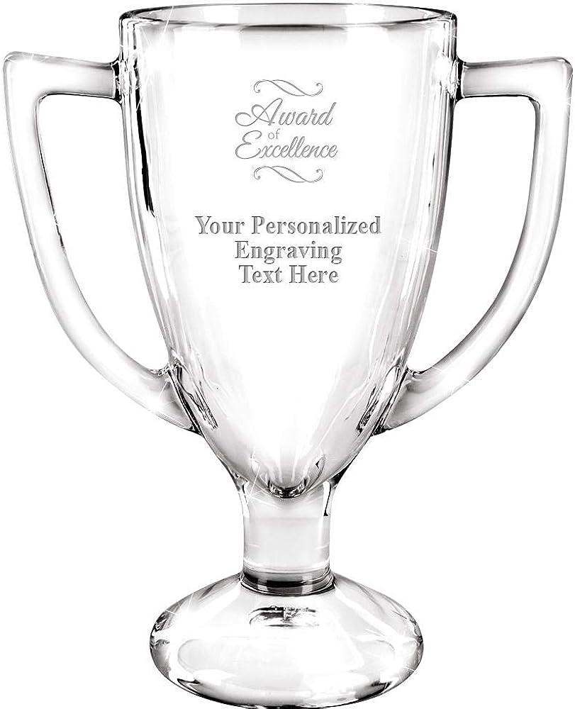 2021 new Personalized Glass Miami Mall Trophy 7