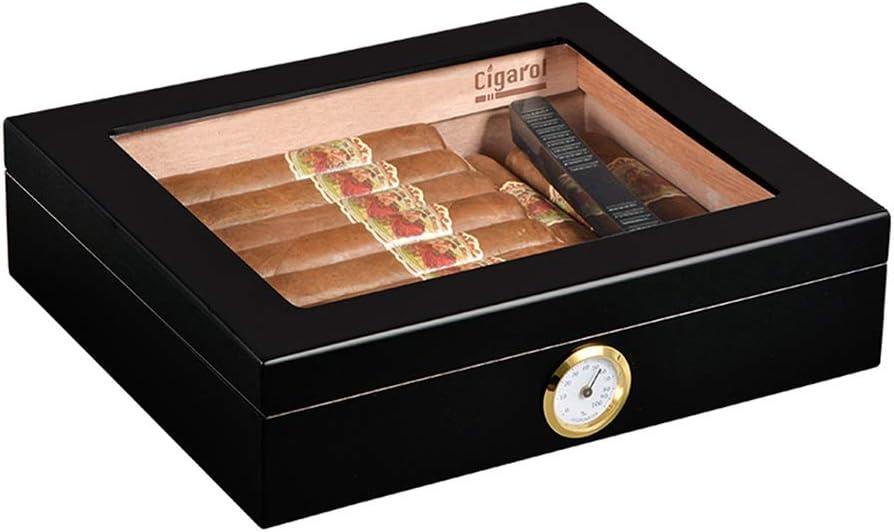 Humidors Cigar Large-scale sale Box Minneapolis Mall Cabinet Ciga Solid Wood