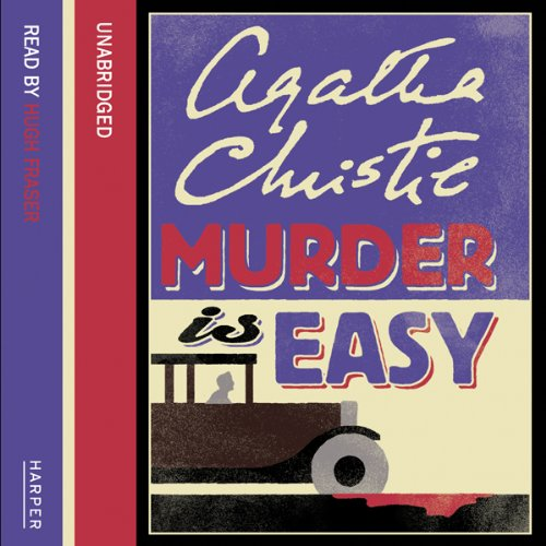 Murder is Easy audiobook cover art