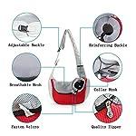 PETEMOO Pet Sling Carrier Bag, Hand-Free Dog Cat Outdoor Travel Shoulder Bag with Adjustable Strap& Zipper 8