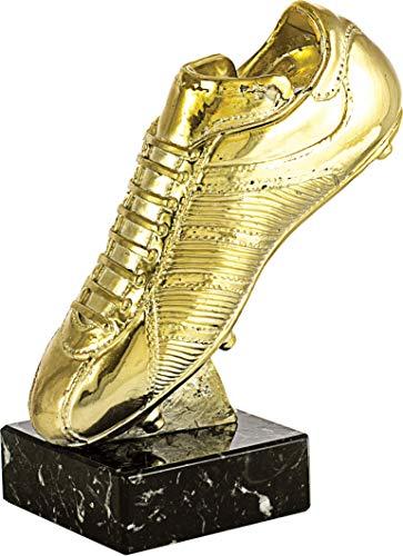 Art-Trophies TP413 Trofeo Deportivo Bota Fútbol, Dorado, 25 cm