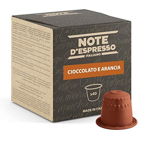 Note D'Espresso - Kapselmaschinen - ausschließlich Kompatibel mit Nespresso*- Orange Chocolate - 7g x 40
