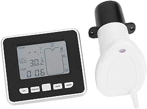 MagiDeal TS-FT002 Medidor de Nivel Líquido Tanque Ultrasónico Inalámbrico con Sensor Temperatura