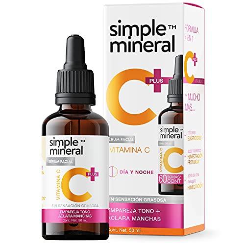 Serum Para La Cara  marca SIMPLE MINERAL