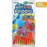 132 Paquete Globos de agua de llenado rápido Autosellante Bomba de agua Verano Splash Fun Pelea de agua Juego para niños y adultos (1 Paquete 132)