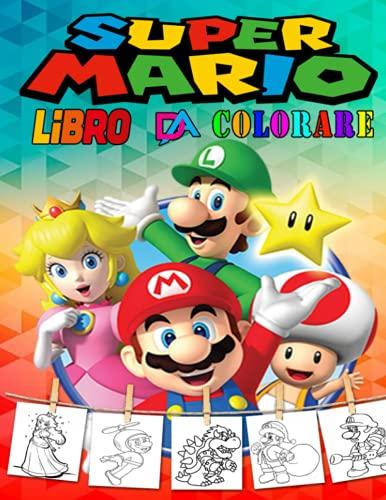 super mario libro da colorare: Grande Super Mario Bros Libro Da Colorare Con Immagini Fantastiche Per Bambini ; fantastico libro da colorare per ... età prescolare, bambini (3-6, 6-8, 8-12 anni)