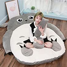 Tatami Mattress Anime Kiss Totoro Plush Beanbag Cartoon Cat Bed Tatami Mattress Cute Soft Comfortable Sleeping Bag for Adu...