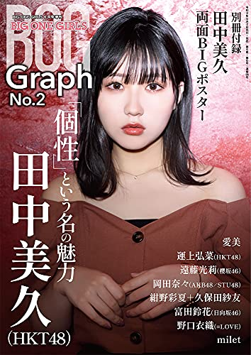 BIG ONE GIRLS Graph No.2【表紙/付録ポスター・田中美久(HKT48)】