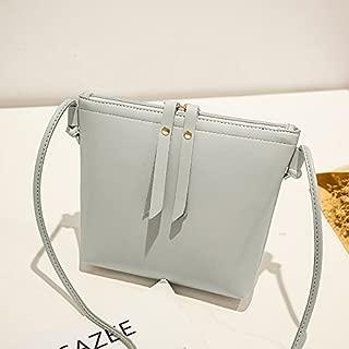 DIEBELLAU Women's Shoulder Bag Fashion Double Pull Mobile Phone Bag Simple Wild Single Shoulder Diagonal Bag