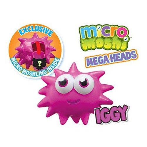 Moshi Monsters – Micro Moshi – Mega Heads – Iggy – Figurine 6 cm (Import Royaume-Uni)
