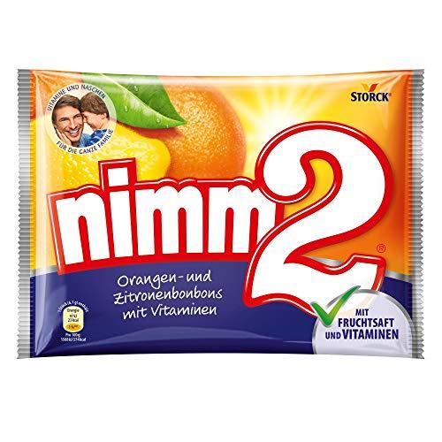 nimm2 (1 x 240g) / Bonbons mit Fruchtsaft & Vitaminen