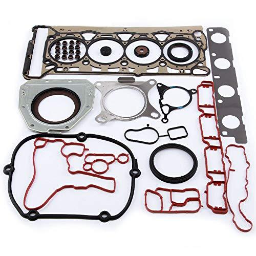 ZKJNMC NEU 06H 103 383 AD Motor Zylinderkopfdichtung Öldichtung Reparatursatz Kompatibel mit Volkswagen Golf Passat Audi A4 A6 Q5 EA888 2.0TFSI 16V 06J103383D