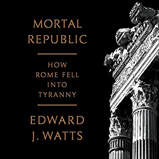 Mortal Republic audiobook cover art
