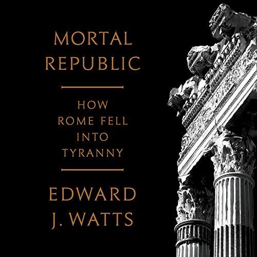 Mortal Republic audiobook cover art