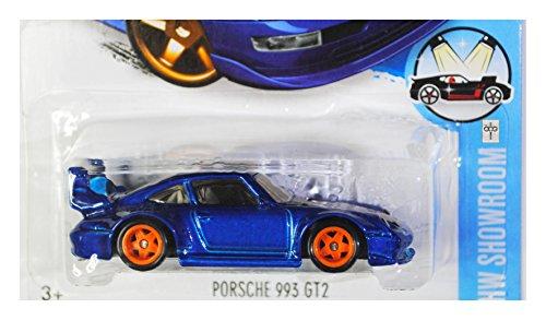 Hot Wheels, 2016 HW Showroom, Porsche 993 GT2 [Blue] Super Treasure Hunt 114/250