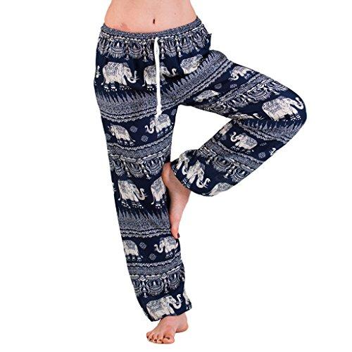 PANASIAM Aladin Muck Pants, Elefant-Style 01, in D. blau