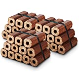 X36 Premium Eco Wooden Heat Logs Pack. Fuel for Firewood,Open Fires, Stoves and...