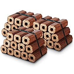 X36 Premium Eco Wooden Heat Logs Pack