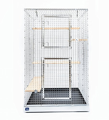 Quality Cage Crafters Chinchilla Mansion
