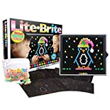 Basic Fun Lite-Brite Ultimate Value Retro Toy, Bigger and Brighter Screen, More Pegs and Templates, Storage Pouch, Gift for Girls and Boys, Ages 4+ (Amazon Exclusive)