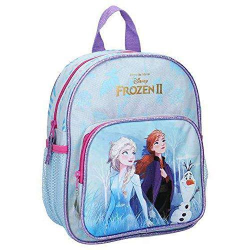 Frozen 2 Disney La Reine des Neiges 2 Sac à Dos Enfant - Elsa, Anna et Olaf - Find The Way Bleu