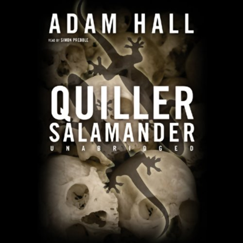 Quiller Salamander audiobook cover art
