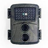 Wan&ya Mini cámara de Vida Silvestre 12MP 1080P Cámara de Seguimiento HD para Exteriores sin Brillo 940Nm IR Leds Cámara Impermeable para Juegos de Caza para la Seguridad del hogar de la Granja,Verde