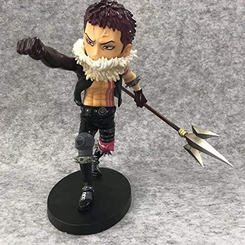 KIJIGHG Anime One Piece Charlotte Katakuri Figura de Anime Figuras de acción Modelo de Personaje de Anime 21Cm