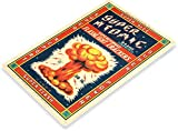 Tin Sign Super Atomic Firecrackers Fireworks Stand Booth 4th July Independence Day New Years Metal Sign Decor C560