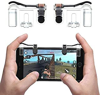 WG Phone Gamepad Trigger Fire Button Aim Key L1R1 Shooter Controller PUBG V3.0 FUT1 for Android Smartphones, Cell Phones, Tablets and Devices,A,M