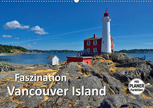 Faszination Vancouver Island (Wandkalender 2021 DIN A2 quer)