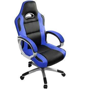 IntimaTe WM Heart Racing Gamer Fauteuil de Gaming pivotant avec Hauteur réglable, siège Large et Repose-tête en polyuréthane