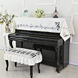 Clavier Couverture Protecteur pour Piano,Housse de protection pour piano...
