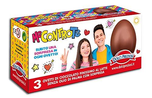 Tripack 3 Ovetti di Cioccolato al Latte ME CONTRO TE con Sorpresa