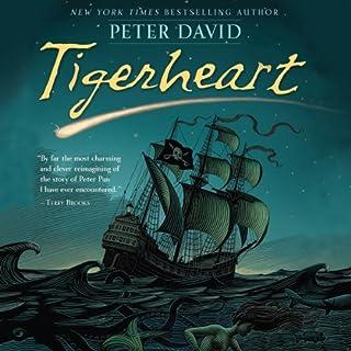 Tigerheart audiobook cover art