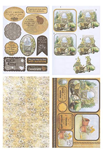 Unbekannt Debbi Moore Designs USB-Kompendium Paper Craft Collection