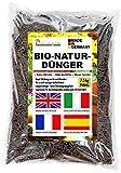 Humusziegel - Engrais organique de fumier de cheval granulés - engrais pour fleurs engrais naturel organique 7,5 kg