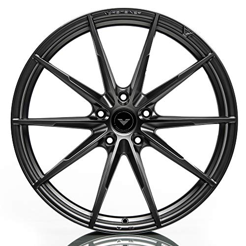 Vorsteiner V-FF 109 Flow Forged Rear Wheel Compatible with 14-18 BMW F15/F16 X5/X6 5x120 Bolt Pattern, 22x11 (+30mm Offset), Carbon Graphite - 1 PC