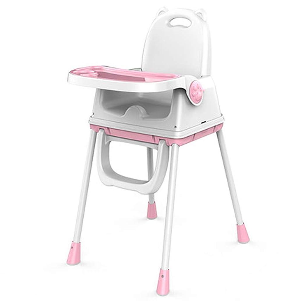 満足できるダルセットアーサーコナンドイルベビーフードのハイチェアー、3in 1テーブルとチェアセット、ハイチェアシート、幼児ブースター家具、トレイ&カップホルダー付きベビーフィーディング(グリーン),Pink