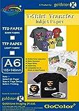 GoColor Premium T-Shirt Transfer Inkjet Photo Paper for Light Fabrics A4 / 5